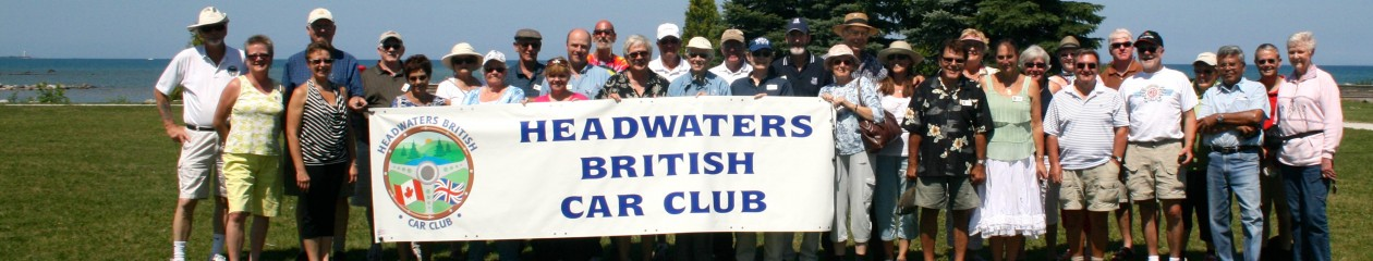 Headwaters British Car Club